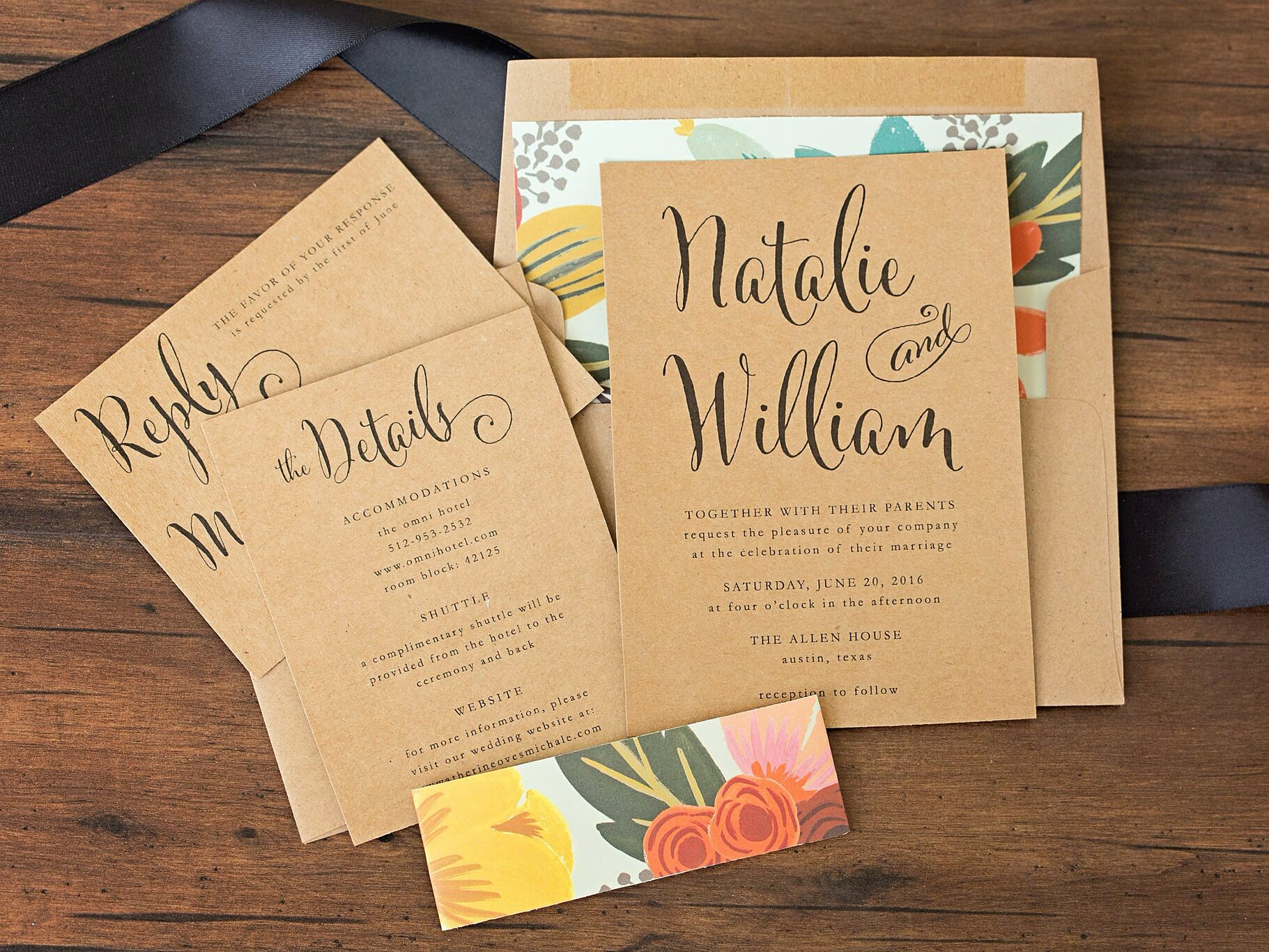 paperandlacecollections minted wedding invitations Mint Floral Wedding Invitation