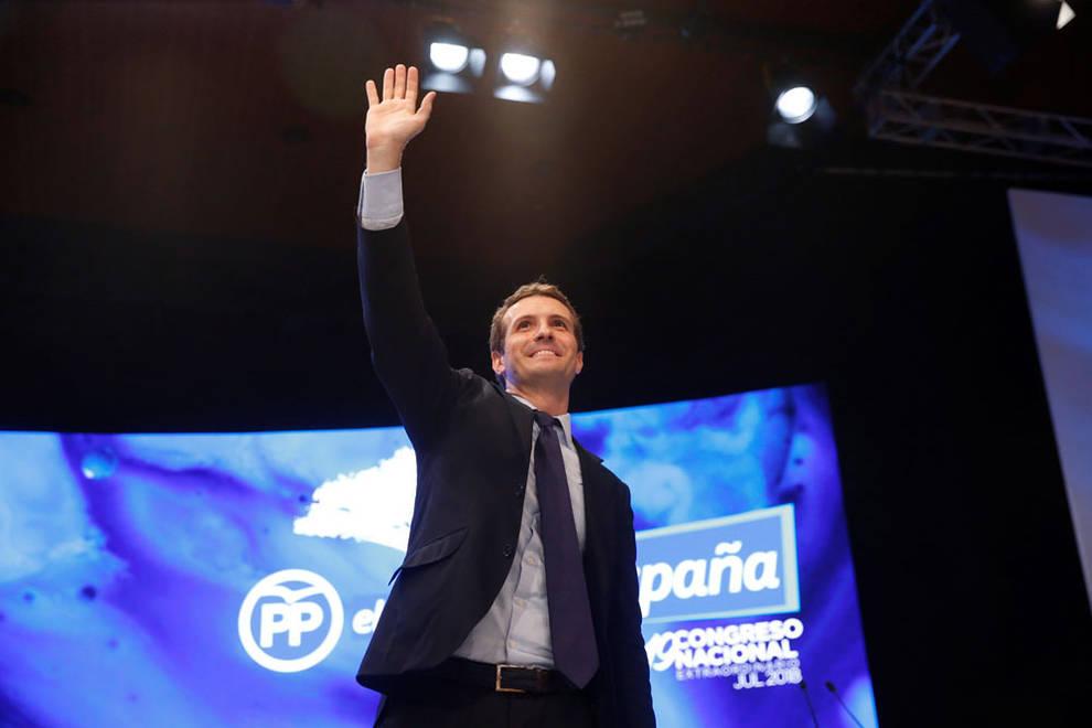 Pablo Casado, nuevo presidente del PP   Noticias de Nacional en Diario de Navarra
