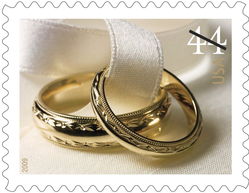 the postal service uses wedding stamps to encourage mail invitations stamps for wedding invitations Related Coverage