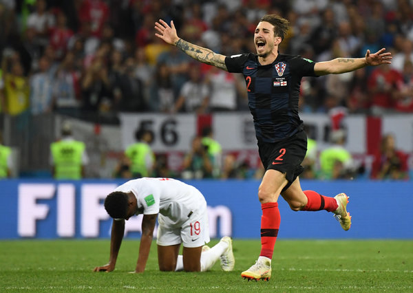 Croatia Digs Deeper, Burying England's World Cup Dreams - The New York Times