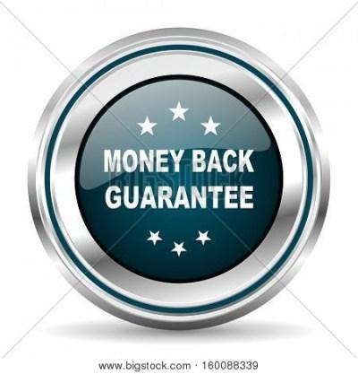 Money Back Guarantee Vector Icon. Vector & Photo | Bigstock