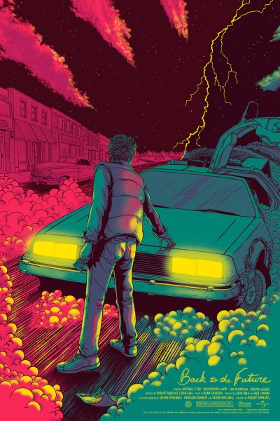 Striking BACK TO THE FUTURE Art Prints from Mondo and Hero Complex — GeekTyrant