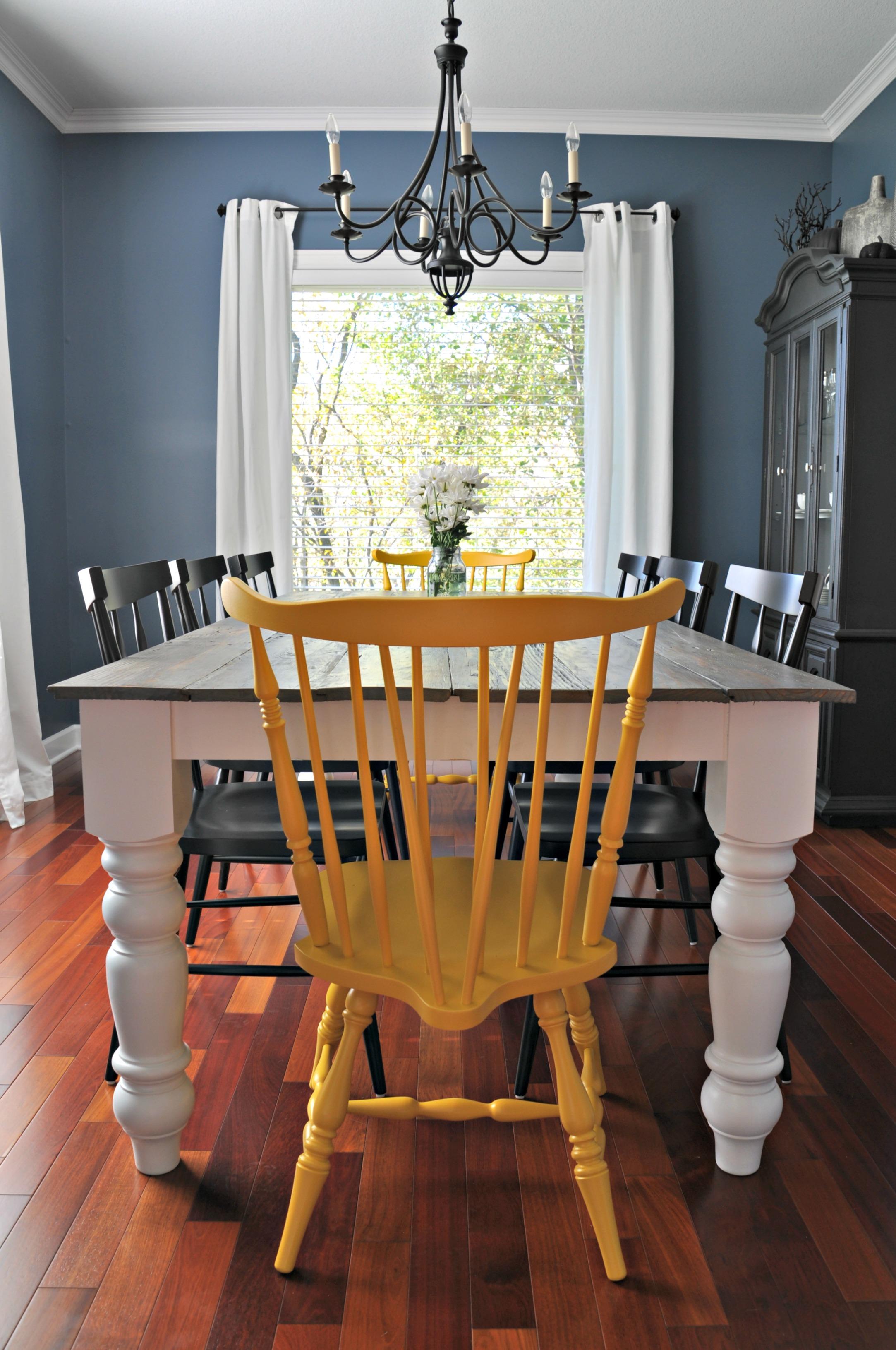 how to build a farmhouse table diy tutorial diy kitchen table plans Free Farmhouse Dining Table Plans