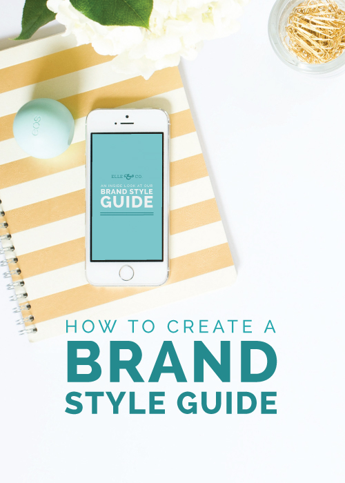 How to Create a Brand Style Guide