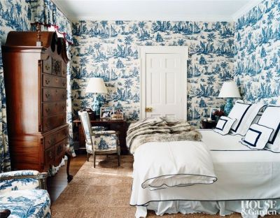 Dress your walls :: Why paper is better than paint — The Entertaining House