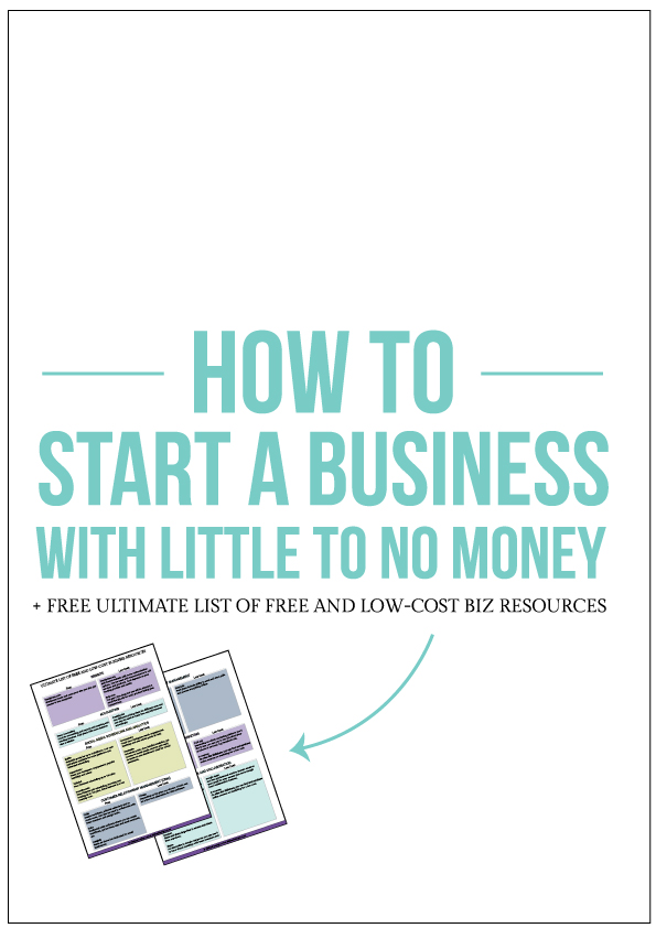 Allebasi Design How To Start a Business With Little To No Money