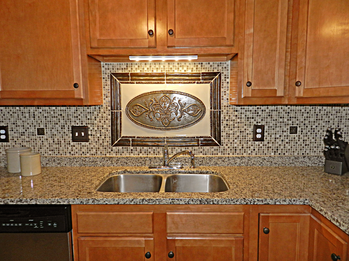 blog mosaic kitchen backsplash Stone and Glass mosaic tiles in the field in addition handmade tiles