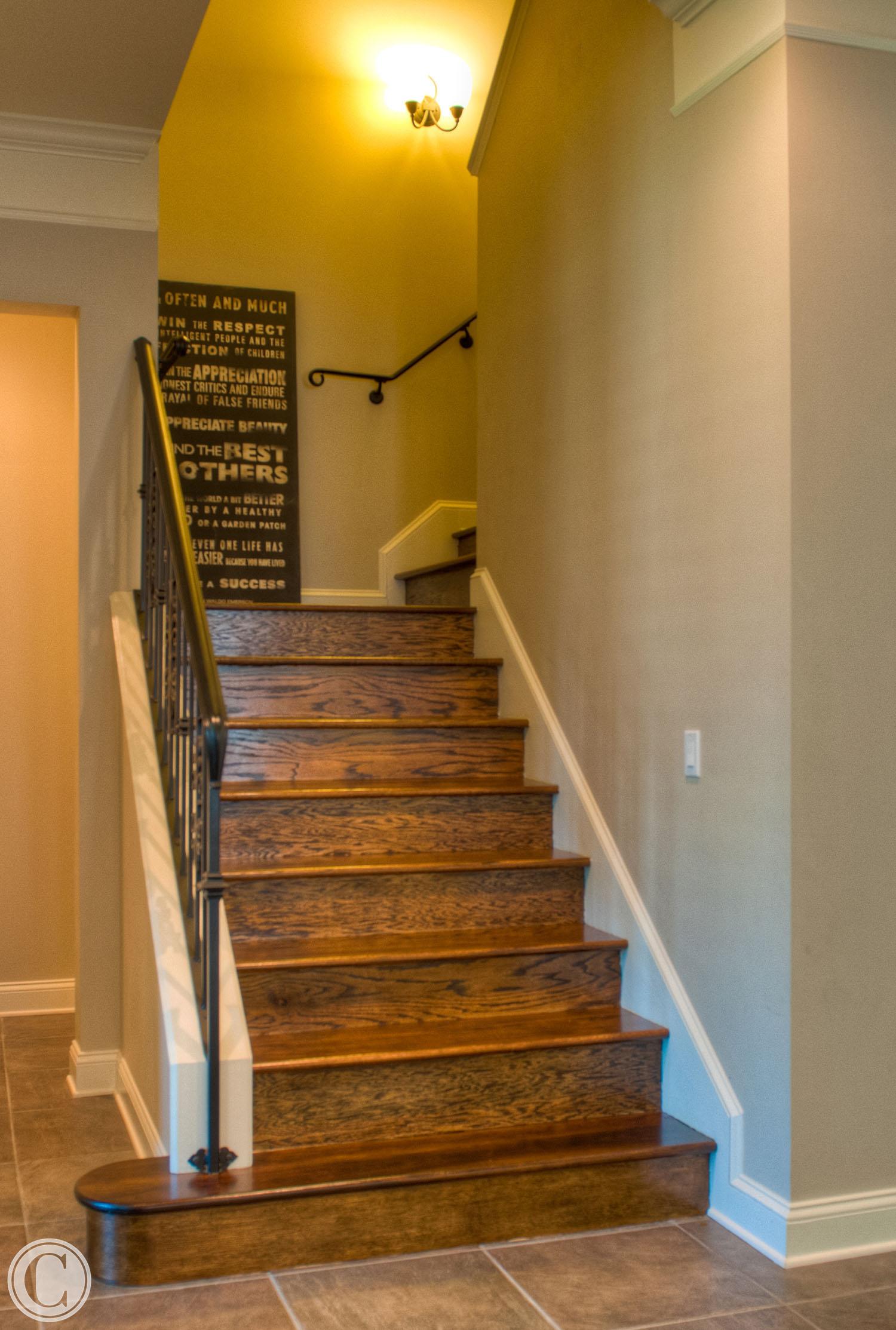 home renovation glen kernan jacksonville fl kitchen remodel jacksonville fl Wooden Staircase remodel Glen Kernan Jacksonville Florida Mark Sain Wilson Photography