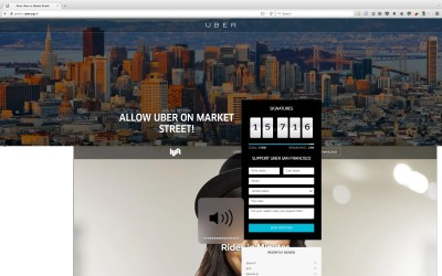 Uber website hacked to display ad for Lyft - Business Insider