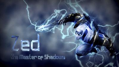 Shockblade Zed - LoLWallpapers