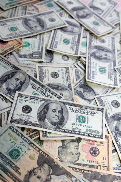American Dollar bank notes many banknotes bills — Stock Photo © lunamarina #5124233