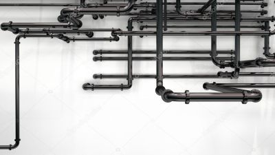 Pipes background — Stock Photo © whitehoune #9095393