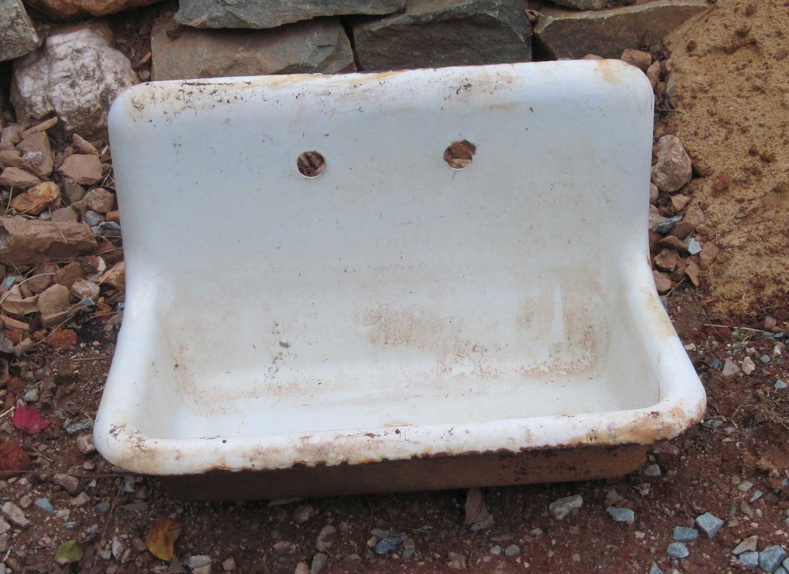 cast iron sink as a work of art refinish kitchen sink Apparently