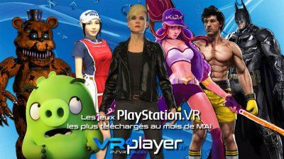 PlayStation VR : les meilleures ventes PSVR du mois de mai