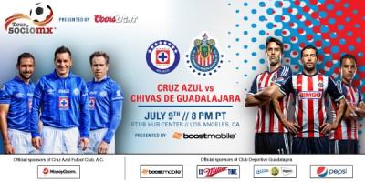 Chivas Guadalajara vs. Cruz Azul | StubHub Center