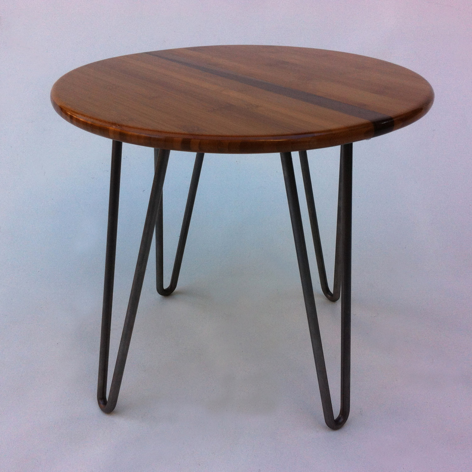 50″ Kidney Bean Cocktail Table – Mid Century Modern Coffee Table