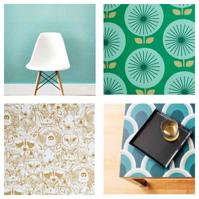 Design Finds – Temporary Wallpaper – F.I.N.D.S.