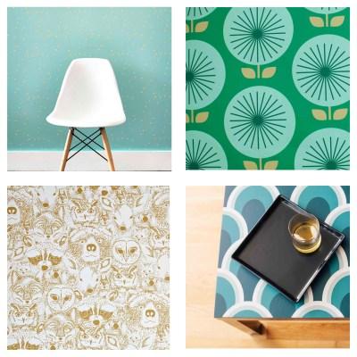 Design Finds – Temporary Wallpaper – F.I.N.D.S.