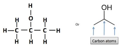 Chemical Makeup Of Ethanol   Saubhaya Makeup
