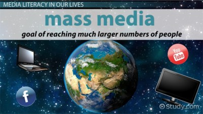 What is Media Literacy? - Definition, Importance & Examples - Video & Lesson Transcript | Study.com
