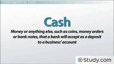 Control of Cash: Definition & Methods - Video & Lesson Transcript | Study.com