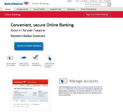 Bank of America Online Sign In - 2018-2019 StudyChaCha