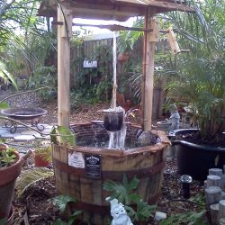 Wishing Well Fountain for Exclusive Picturesque Look in Your Garden