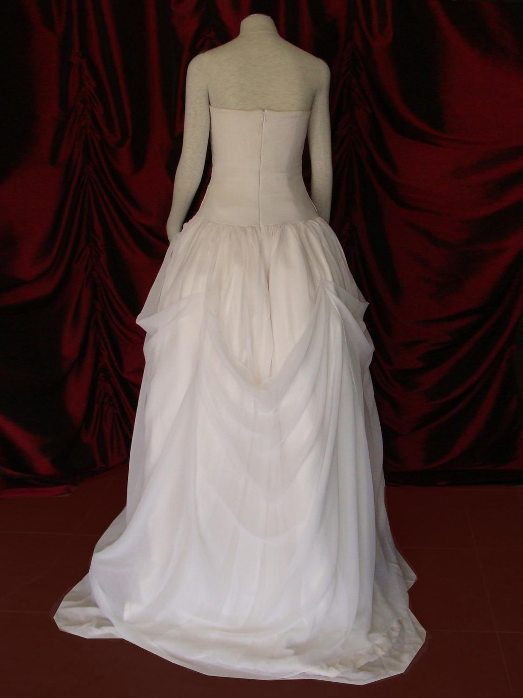 s inspired silk chiffon dress wedding dress s Inspired Silk Chiffon Dress