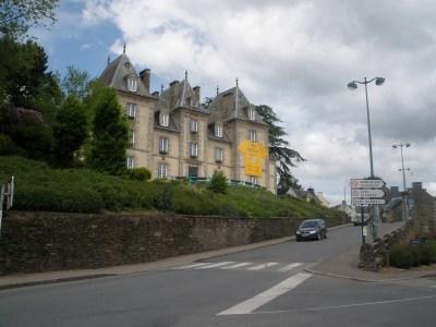 Mur de Bretagne and the Abbey of Bon-Repos   Gippsland Granny