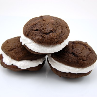 Chocolate Whoopie Pies with Marshmallow Filling | Sweet Pea's Kitchen