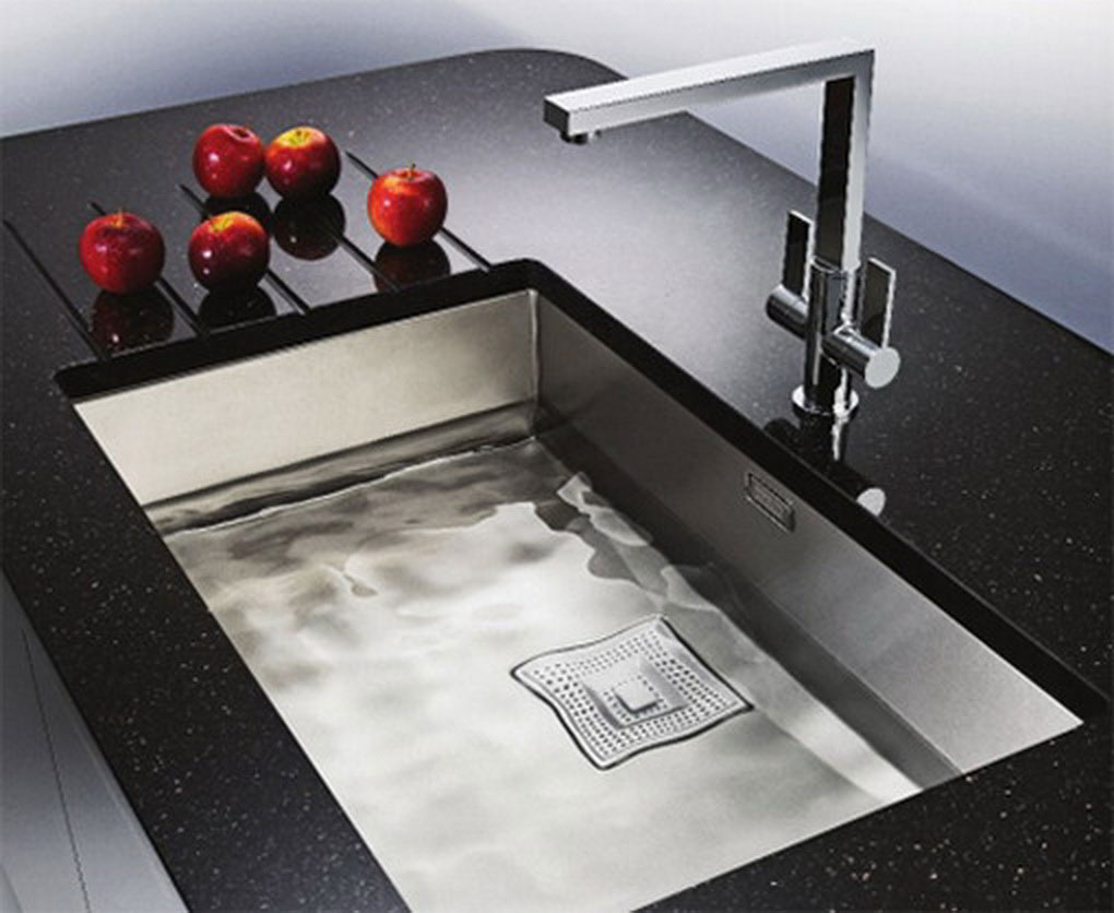 eco automatic kitchen sink by ahhaproject moco loco designer kitchen sinks Modern Kitchen Design With The Undermount Kitchen Sink Custom