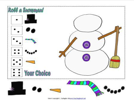 Kindergarten Snow Unit