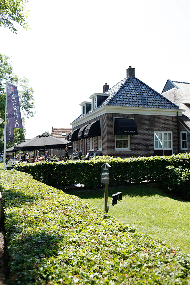 Best Things To Do In Giethoorn Netherlands featured by top US travel blog, Tea Cups & Tulips: image of Restaurant in Giethoorn