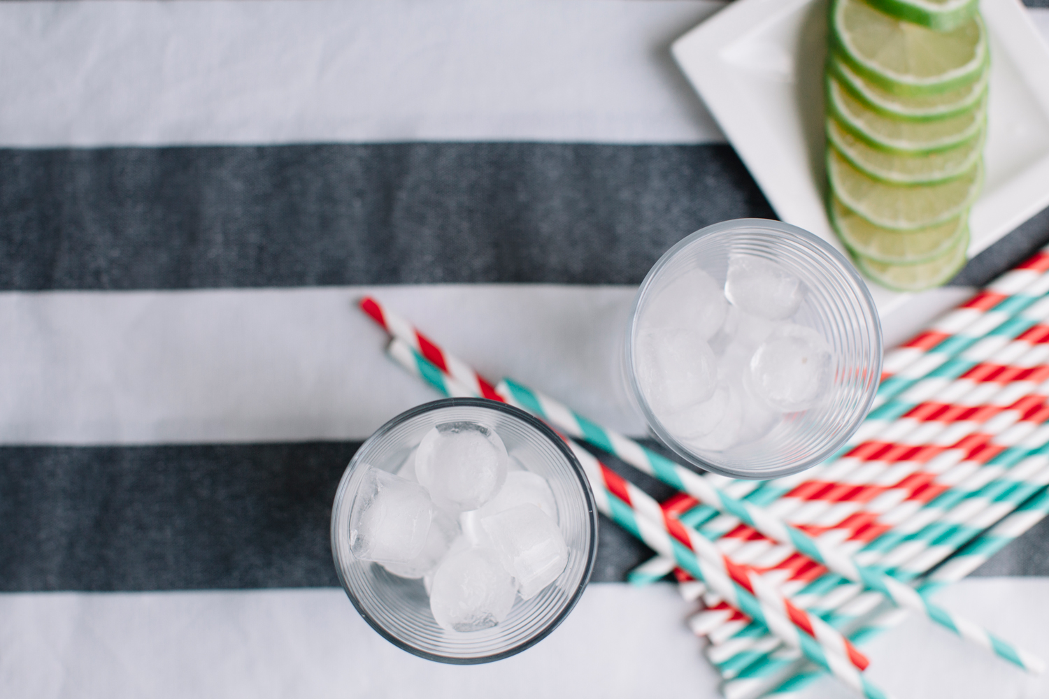 Spicy Skinny Margarita Recipe featured by top US food blog, Tea Cups & Tulips