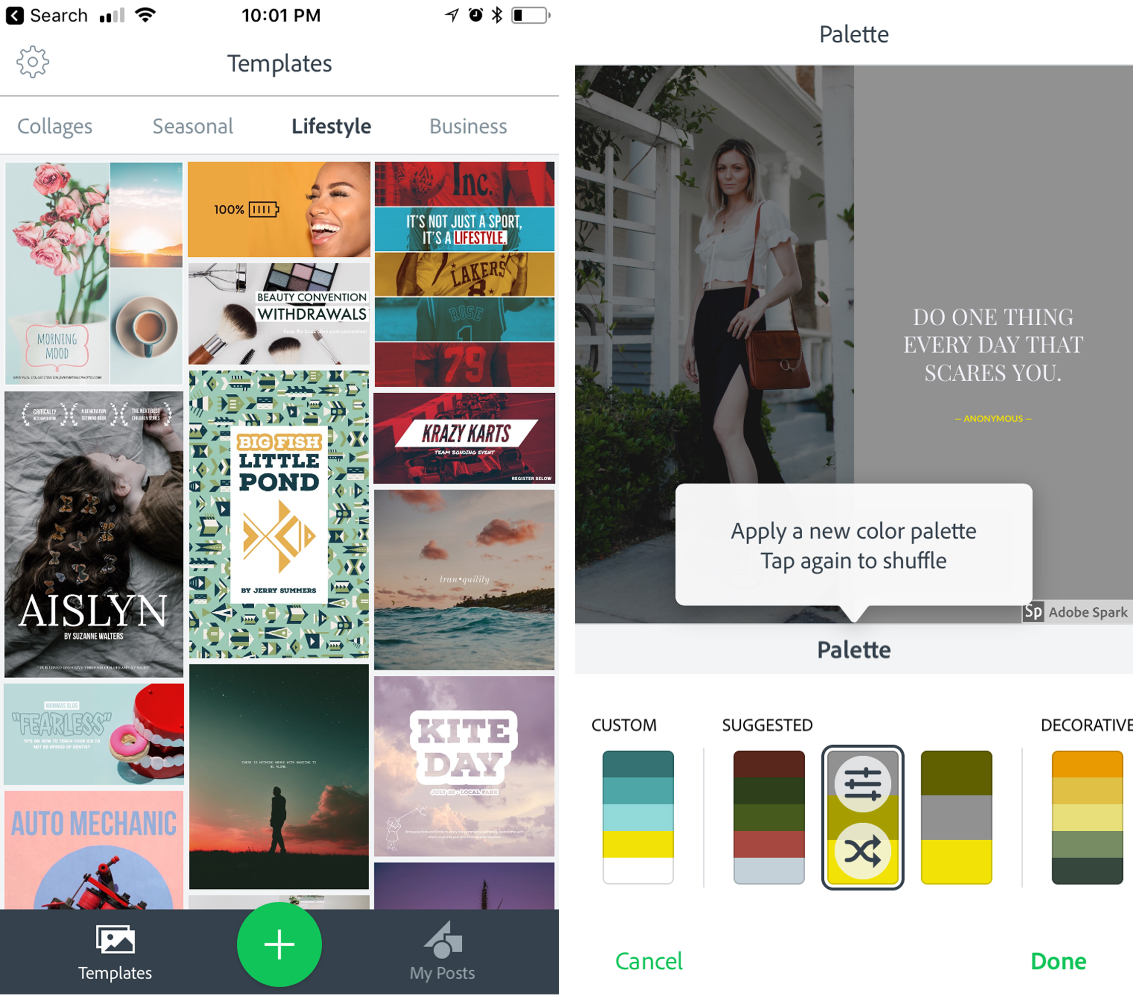 7 Best Apps for Instagram Stories featured by top US influencer, Tea Cups & Tulips: Adobe Spark Post