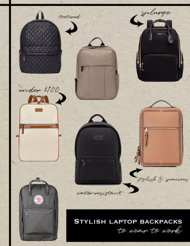 stylish laptop backpacks