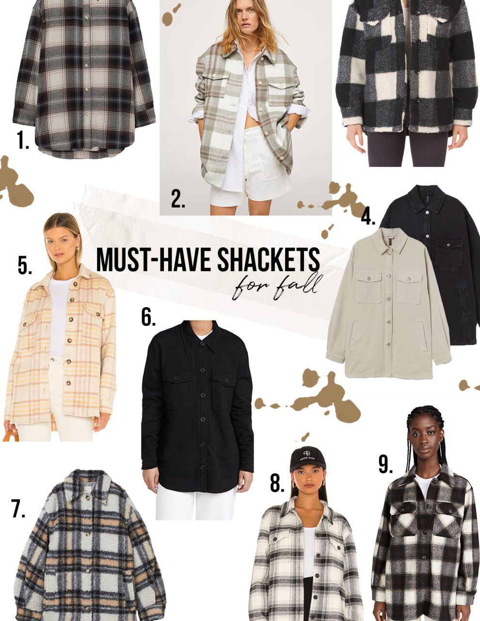 Best Fall Shackets for women featured by top LA fashion blogger, Teacups and Tulips