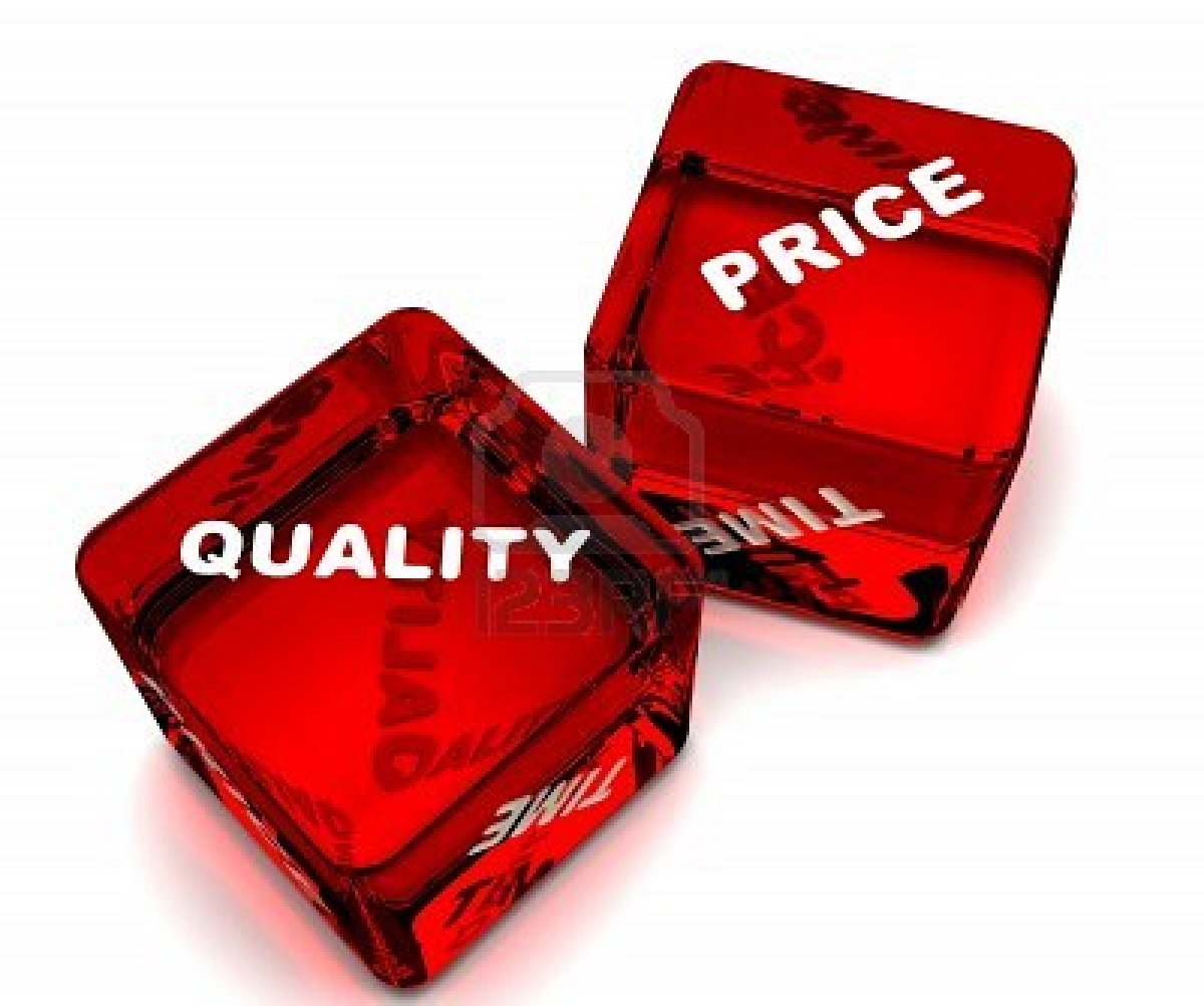 S    minaire du p    le Donn    es Connaissances     Quality and Price of Data     quality price