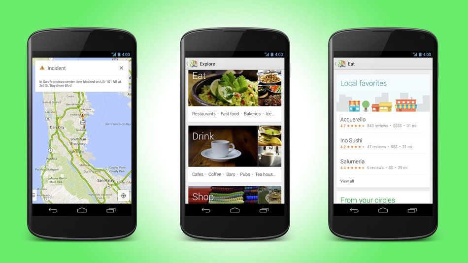 Google Maps for Android Gets New Design  Better Navigation Google Maps