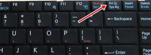 Как на ноутбуке самсунг сделать скрин экрана