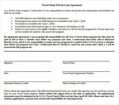 26+ Great Loan Agreement Template