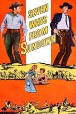 Nonton Film Seven Ways from Sundown (1960) Subtitle Indonesia Streaming Movie Download