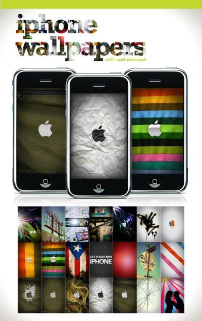 iPhone Wallpaper - Set 1 by angelaacevedo on deviantART
