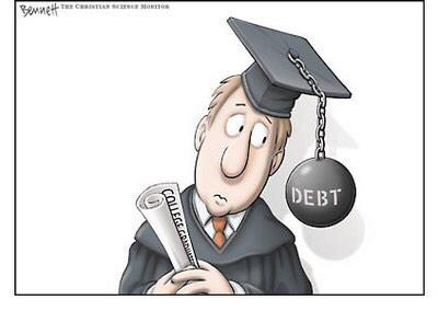 Student Loan Debt: The Modern Rite of Passage   The Conscious Resistance Network
