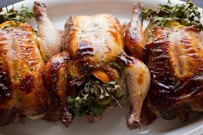 Cornish Hen Recipe | The Cozy Apron