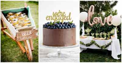 25 Amazing DIY Engagement Party Decoration Ideas for 2019