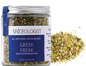 Spiceology Greek Freak BBQ Rub and Seasoning