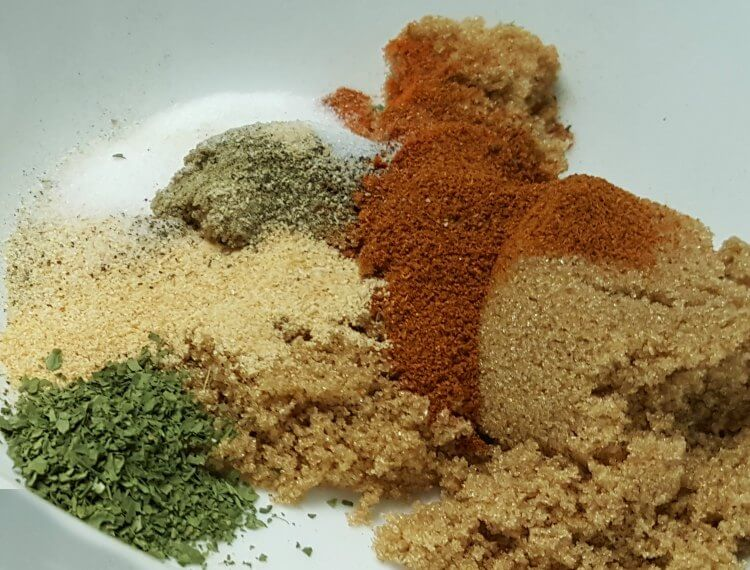 Sweet & Spicy Hot Chicken Fillet spices
