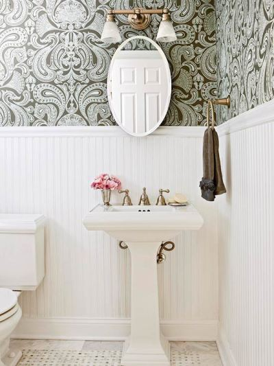 wainscoting and wallpaper ideas 2017 - Grasscloth Wallpaper