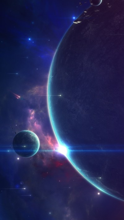 Planets iPhone Wallpaper (page 2) - Pics about space